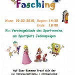 SVJS Kinderfasching 2015